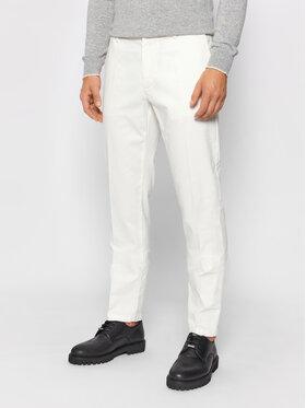 Trussardi Trussardi Pantalon en tissu 52P00000 Blanc Aviator Fit