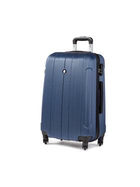 Semi Line Semi Line Valise rigide taille moyenne 5456-7 Bleu marine