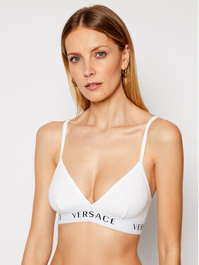 Versace Versace Sutien Bralette Donna AUD04067 Alb