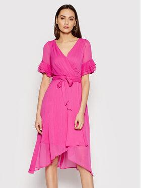 DKNY DKNY Sukienka codzienna DD1AI335 Różowy Regular Fit