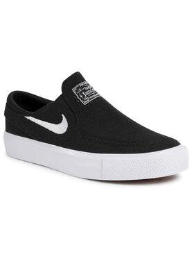 NIKE NIKE Pantofi Sb Janoski cnvs Slip (GS) 882988 002 Negru