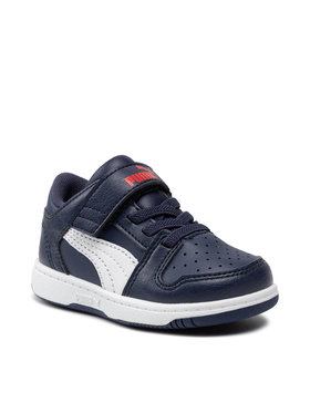 Puma Puma Laisvalaikio batai Rb LayUp Lo Garment Washed 371470 03 Tamsiai mėlyna