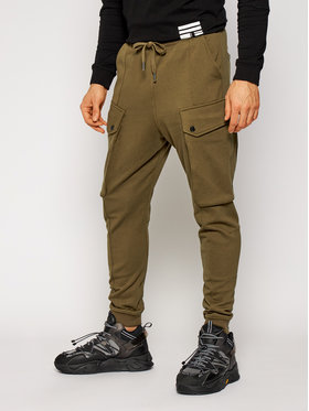 G-Star Raw G-Star Raw Долнище анцуг Droner Cargo D18247-A613-1866 Зелен Relaxed Fit