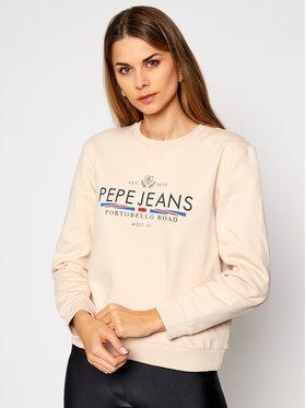 Pepe Jeans Pepe Jeans Džemperis Celina PL580987 Smėlio Regular Fit