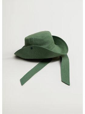 Mango Mango Pălărie Verde Bucket 87045703 Verde