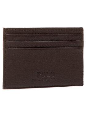 Polo Ralph Lauren Polo Ralph Lauren Kreditinių kortelių dėklas Ongoing 405526231006 Ruda