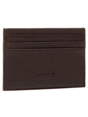Polo Ralph Lauren Polo Ralph Lauren Pouzdro na kreditní karty Ongoing 405526231006 Hnědá