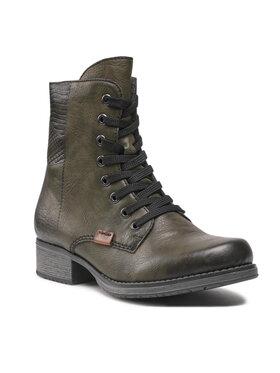 Rieker Rieker Členková obuv Y9718-52 Zelená