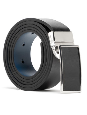 Semi Line Semi Line Cintura da uomo P8234-0 Blu scuro