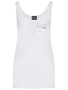 EA7 Emporio Armani EA7 Emporio Armani Marškinėliai 3KTH54 TJ28Z 1100 Balta Regular Fit