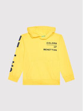 United Colors Of Benetton United Colors Of Benetton Džemperis 3BC1C2262 Geltona Regular Fit