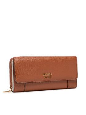 Guess Guess Velká dámská peněženka Naya (SLG) SWVB78 81620 Hnědá