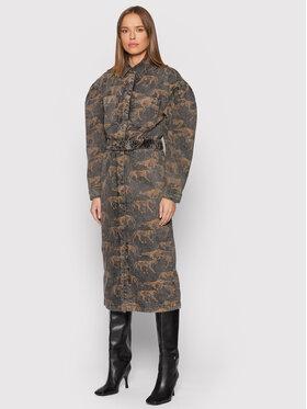 Remain Remain Φόρεμα τζιν Dahlia Aop RM749 Γκρι Regular Fit