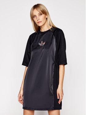 adidas adidas Ежедневна рокля Tee GN3114 Черен Regular Fit