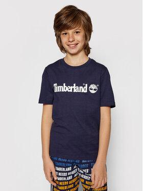 Timberland Timberland T-shirt T25P22 S Tamnoplava Regular Fit
