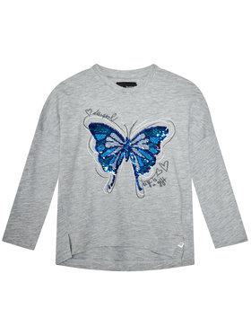 Desigual Desigual Блуза Tepexpan 20WGTK88 Сив Regular Fit