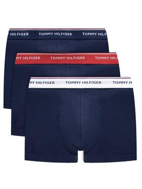 Tommy Hilfiger Tommy Hilfiger Комплект 3 чифта боксерки 3P Trunk 1U87903842 Тъмносин