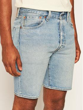 Levi's® Levi's Džinsiniai šortai 501® Hemmed 36512-0102 Mėlyna Regular Fit