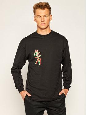 MSGM MSGM Marškinėliai ilgomis rankovėmis 2940MM71 207598 Juoda Regular Fit