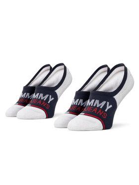 Tommy Jeans Tommy Jeans Unisex pėdučių komplektas (2 poros) 100000402 Balta