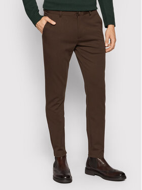 Only & Sons Only & Sons Чино панталони Mark 22010209 Кафяв Tapered Fit