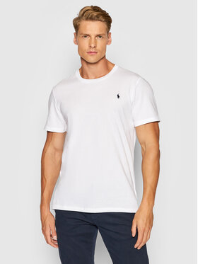 Polo Ralph Lauren Polo Ralph Lauren Тишърт Sle 714844756004 Бял Regular Fit