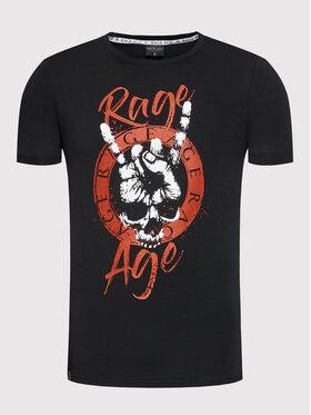 Rage Age Rage Age Póló Rumble 1 Fekete Regular Fit