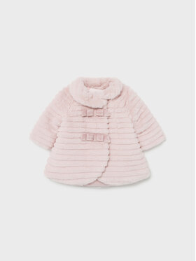 Mayoral Mayoral Cappotto di transizione 2404 Rosa Regular Fit