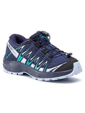 Salomon Salomon Trekingová obuv Xa Pro 3D J 411245 09 W0 Tmavomodrá