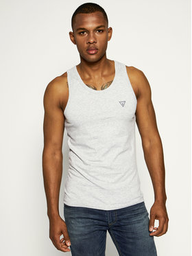 Guess Guess Tank top U97M02 JR003 Γκρι Slim Fit