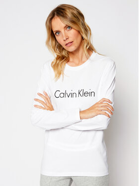 Calvin Klein Underwear Calvin Klein Underwear Blúz 000QS6164E Fehér Relaxed Fit