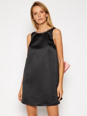 Elisabetta Franchi Elisabetta Franchi Koktejlové šaty AB-025-06E2-V449 Čierna Regular Fit