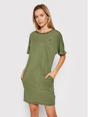 G-Star Raw G-Star Raw Повсякденна сукня Joosa D17175-4107-B575 Зелений Regular Fit