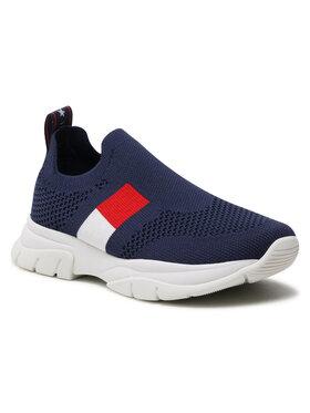 Tommy Hilfiger Tommy Hilfiger Sneakersy Low Cut Sneaker T3A4-31030-0702 M Granatowy