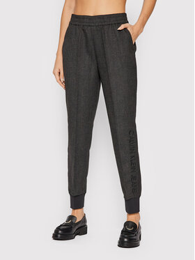 Calvin Klein Jeans Calvin Klein Jeans Joggery J20J216587 Szary Regular Fit