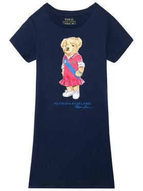 Polo Ralph Lauren Polo Ralph Lauren Každodenní šaty Bear 313837200001 Tmavomodrá Regular Fit