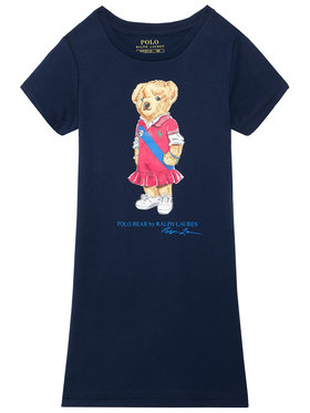 Polo Ralph Lauren Polo Ralph Lauren Sukienka codzienna Bear 313837200001 Granatowy Regular Fit