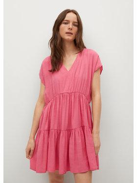 Mango Mango Hétköznapi ruha Siren 87039403 Rózsaszín Loose Fit
