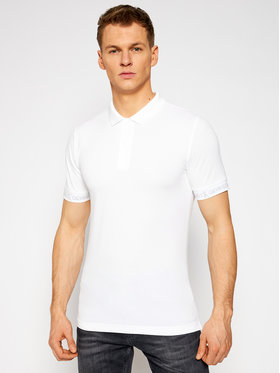 Calvin Klein Jeans Calvin Klein Jeans Polo J30J317283 Blanc Slim Fit