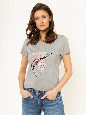 Trussardi Jeans Trussardi Jeans T-shirt 56T00256 Grigio Slim Fit