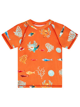 Reima Reima Koszulka do pływania Pulikoi 516566 Pomarańczowy Slim Fit