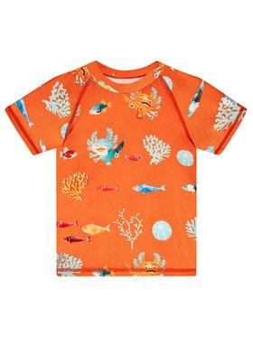 Reima Reima Plavecké tričko Pulikoi 516566 Oranžová Slim Fit