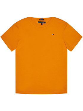 TOMMY HILFIGER TOMMY HILFIGER Marškinėliai Essential Cttn Tee KB0KB05838 M Oranžinė Regular Fit
