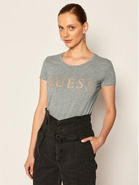 Guess Guess T-Shirt Angelika W0YI0L J1300 Grau Slim Fit