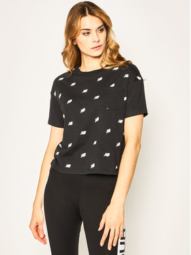 New Balance New Balance Marškinėliai Oz Mini WT01853 Juoda Oversize