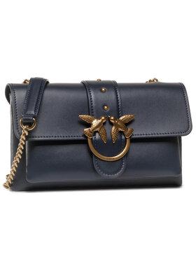 Pinko Pinko Handtasche Love Mini Soft Simply Cl. Al. 20-21 PLTT 1P21SK Y6JC Dunkelblau
