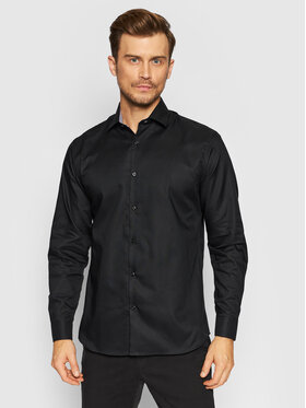 Selected Homme Selected Homme Chemise New Mark 16058640 Noir Slim Fit