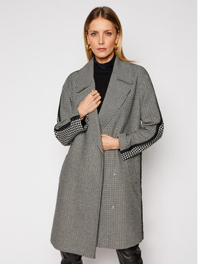 Armani Exchange Armani Exchange Vlnený kabát 3KYK07 YNHFZ 9145 Sivá Regular Fit
