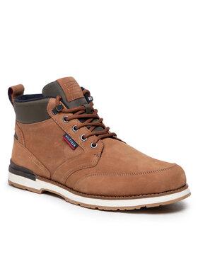 Tommy Hilfiger Tommy Hilfiger Зимни обувки Outdoor Corporate Mix Boot FM0FM03776 Кафяв