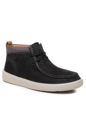 Clarks Clarks Šnurovacia obuv Cambro Mid 261628807 Čierna